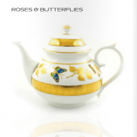 Royal Buckingham - Roses & Butterflies